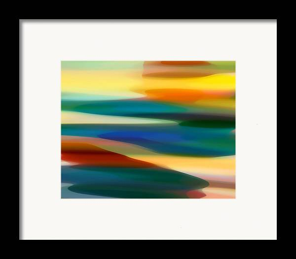 Fury Framed Print featuring the painting Fury Seascape 4 by Amy Vangsgard