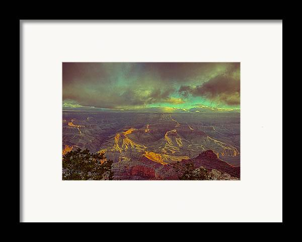 Grand Canyon Framed Print featuring the photograph Gentle Sunrise Over The Canyon by Lisa Spencer