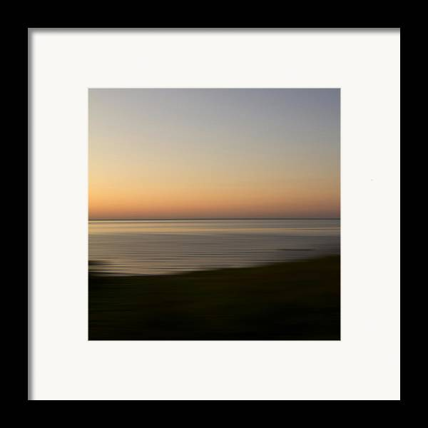 Impressionist Framed Print featuring the photograph Glow by Bob Retnauer