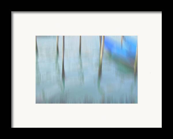 Venice Framed Print featuring the photograph Gondola Poles by Marion Galt