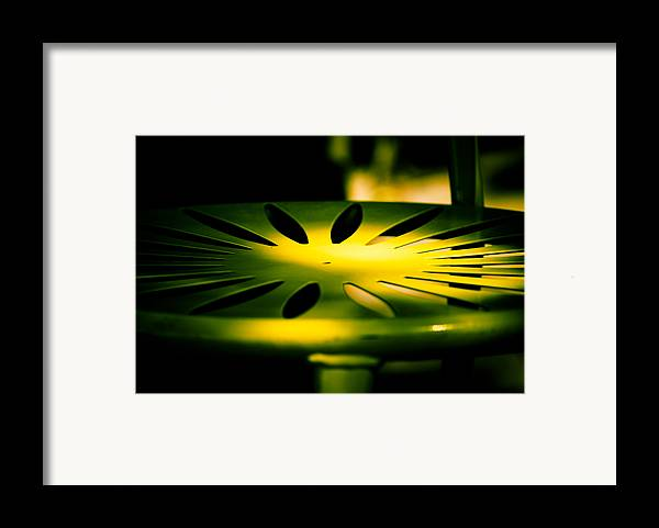 Green And Gold Framed Print featuring the photograph Green And Gold by Christi Kraft