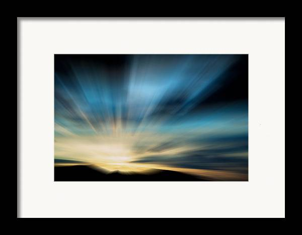 Landscape Framed Print featuring the photograph Guiding Light by Kevin Bone