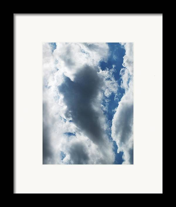 Sky Framed Print featuring the photograph Heart I by Anna Villarreal Garbis