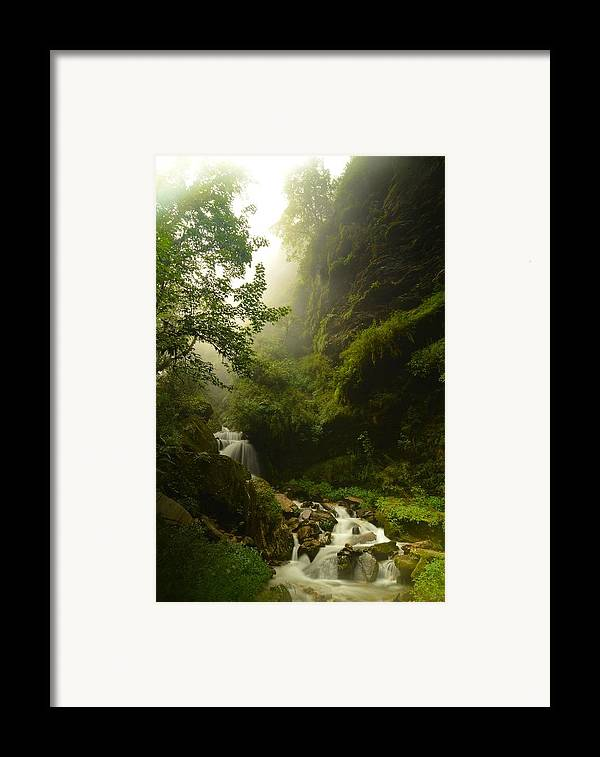 Landscape Framed Print featuring the photograph Heaven Calling by Aaron S Bedell