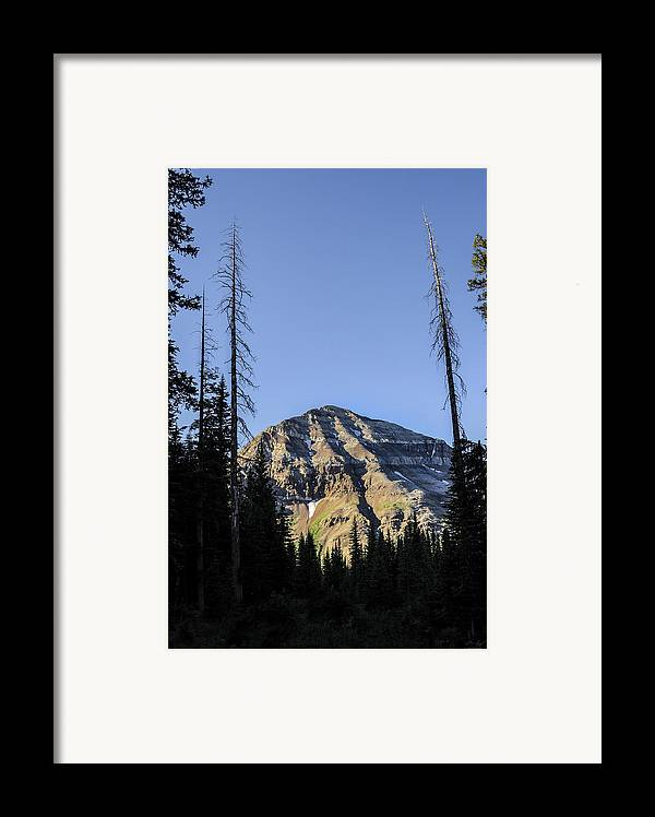 Hesperus Framed Print featuring the photograph Hesperus Mountain by Aaron Spong