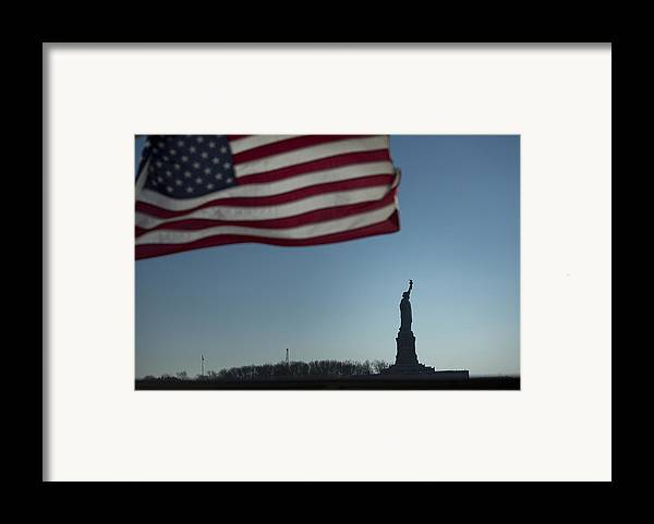 Framed Print featuring the photograph Home Of The Brave by Mark Milar