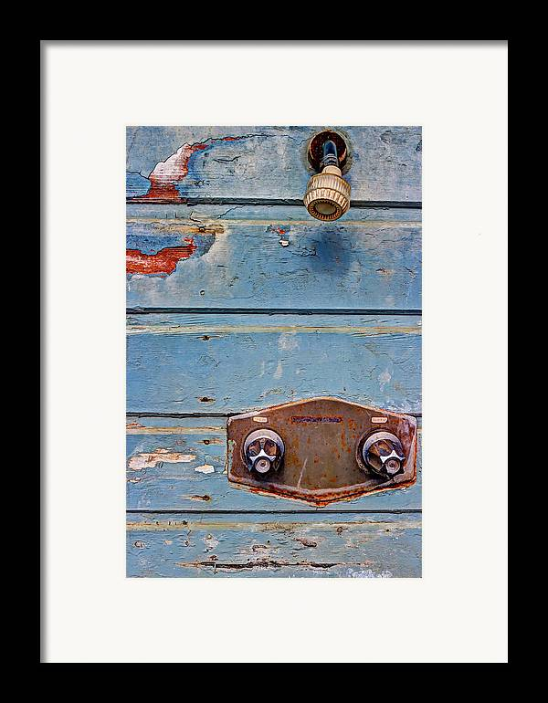 Shower Framed Print featuring the photograph Hot And Cold by Heidi Smith