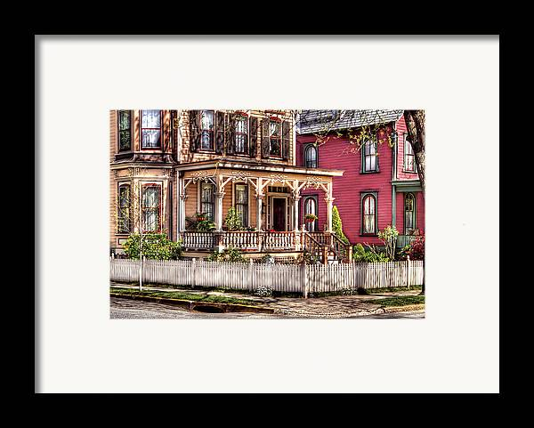 Savad Framed Print featuring the House - Country Victorian by Mike Savad
