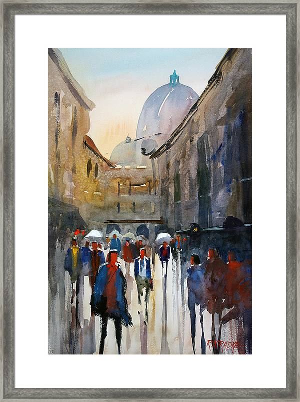 Italian Impressions 5 Framed Print By Ryan Radke
