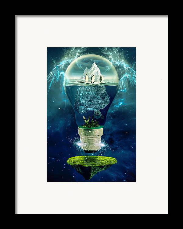 It's The End Of The World As We Know It Framed Print by Erik Brede
