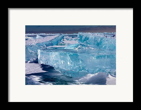 Lake Superior Framed Print featuring the photograph Jewels Of Superior by Mary Amerman