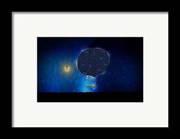 Abstract Framed Print featuring the photograph Just Digg It by Gianfranco Weiss