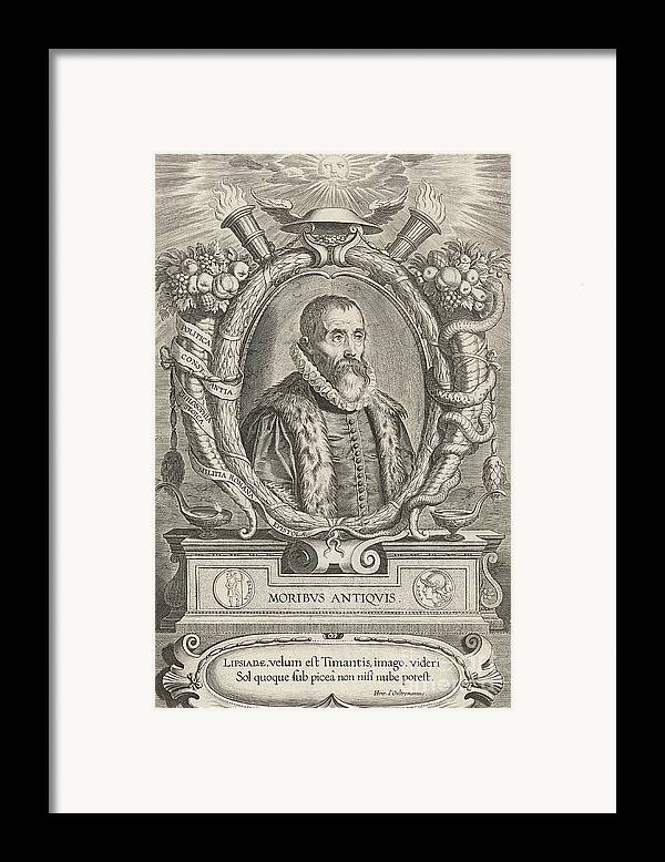 History Framed Print featuring the photograph Justus Lipsius, Belgian Scholar by Photo Researchers