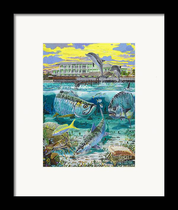Grand Slam Framed Print featuring the painting Key Largo Grand Slam by Carey Chen