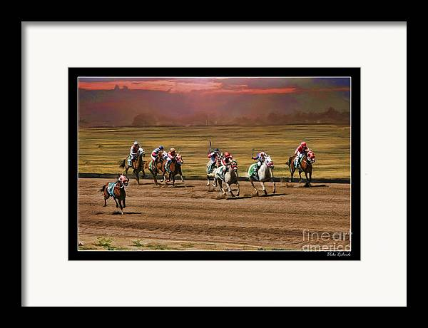 Ladies World Chapionship Ladies Cup Framed Print featuring the photograph Ladies World Chapionship Ladies Cup Missing One Lady by Blake Richards