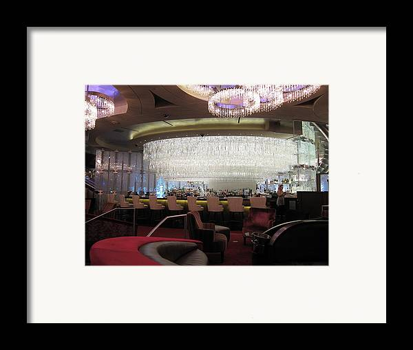 Las Framed Print featuring the photograph Las Vegas - Cosmopolitan Casino - 12123 by DC Photographer