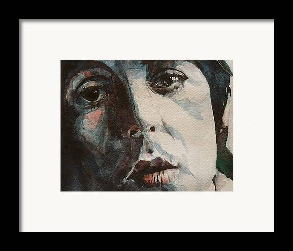 Paul Mccartney Framed Print featuring the painting Let Me Roll It by Paul Lovering