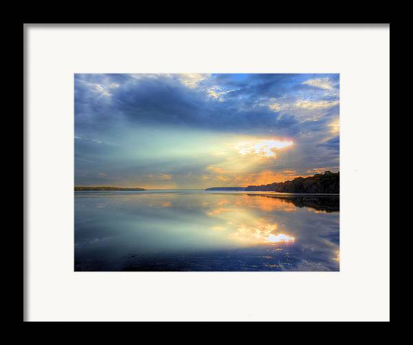 Sun Rays Framed Print featuring the photograph Let There Be Light by JC Findley