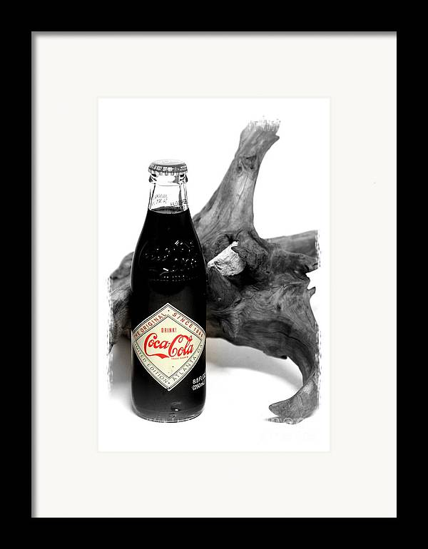 Limited Edition Bottles Framed Print featuring the photograph Limited Edition Coke - No.438 by Joe Finney