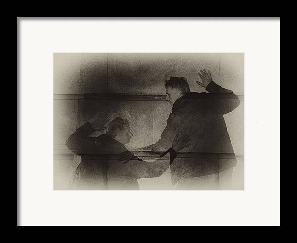 Surreal Framed Print featuring the photograph Listen Very Closely And You'll Hear by Jim Cook