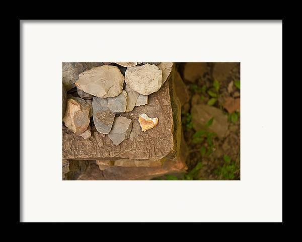 Hearts Framed Print featuring the photograph Lonely Heart by Lena Wilhite