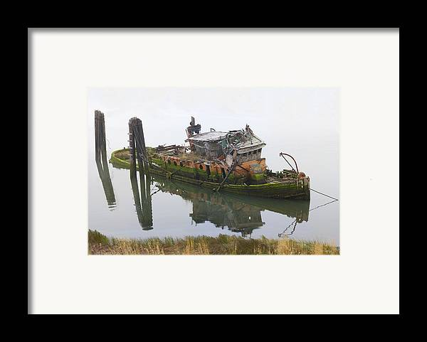 Boats Framed Print featuring the photograph Mary D Hume by Debra and Dave Vanderlaan