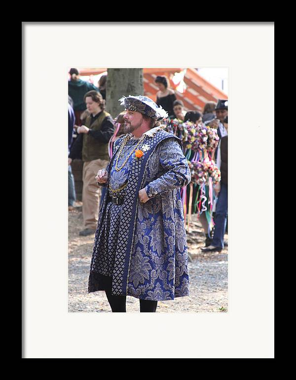 Maryland Framed Print featuring the photograph Maryland Renaissance Festival - People - 121250 by DC Photographer