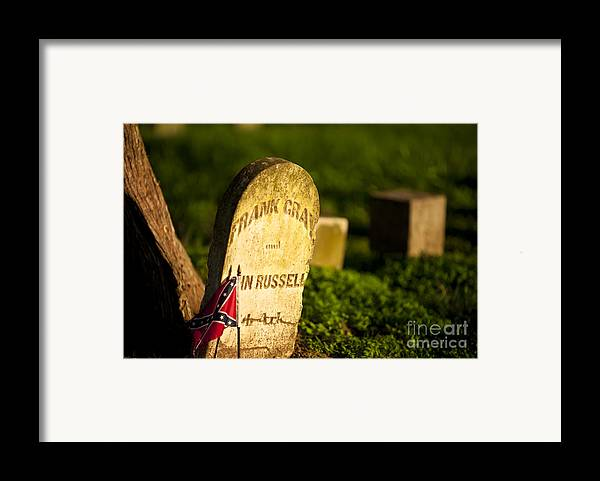 Mcgavock Framed Print featuring the photograph Mcgavock Confederate Cemetery by Brian Jannsen