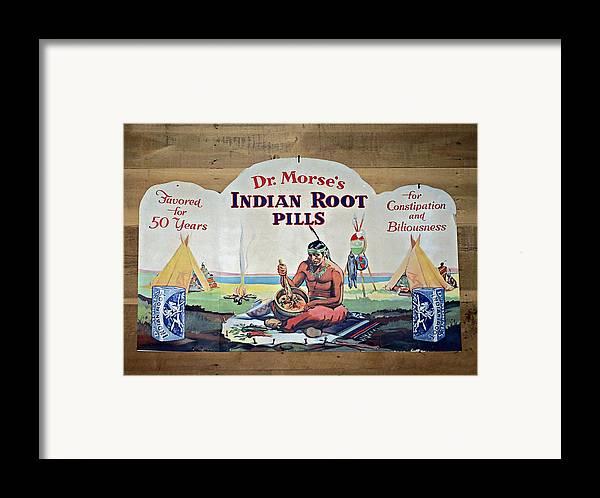 1800 Framed Print featuring the photograph Medicine Man by Susan Leggett