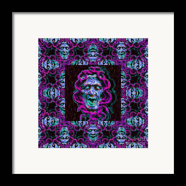 Medusa Framed Print featuring the photograph Medusa's Window 20130131m180 by Wingsdomain Art and Photography