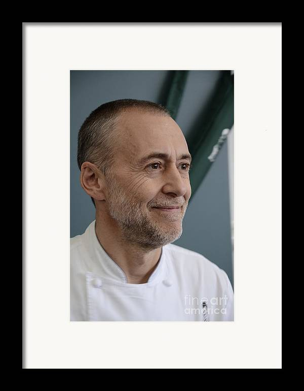 Michel Roux Junior Framed Print featuring the photograph Michel Roux Jr. by CandyAppleRed Images