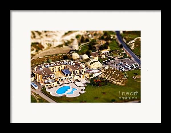 Miniature Framed Print featuring the photograph Mini Getaway by Andrew Paranavitana
