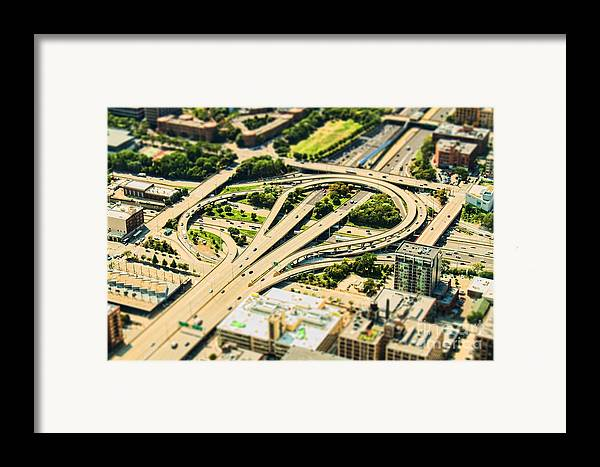 Road Framed Print featuring the photograph Mini Motorway by Andrew Paranavitana