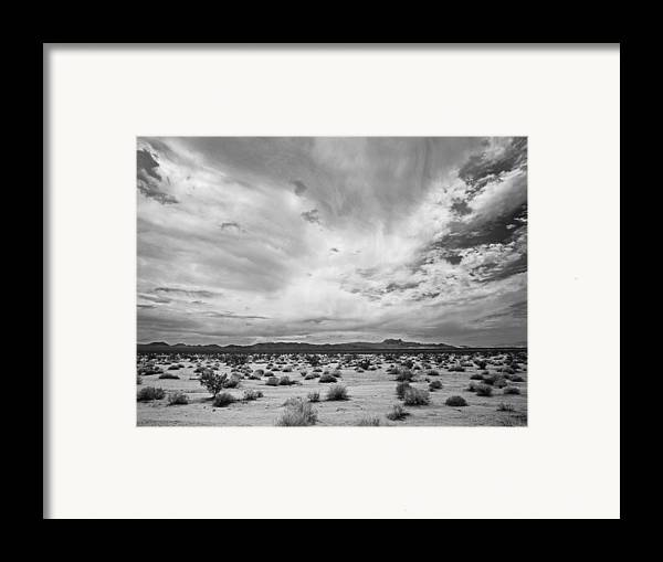 Pentax 67ii Framed Print featuring the photograph Mojave National Preserve by Mike Herdering