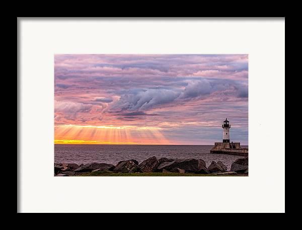 Morning Has Broken Framed Print featuring the photograph Morning Has Broken by Mary Amerman
