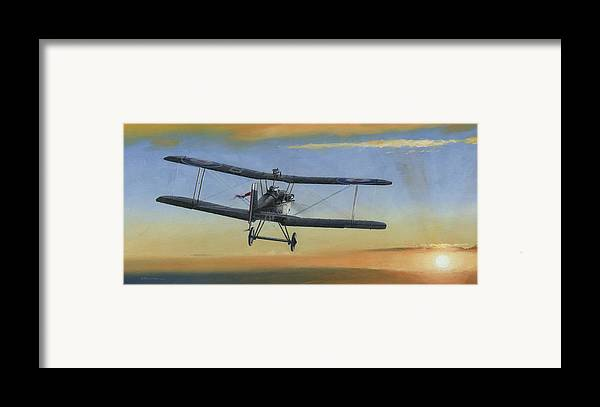 Se5a Framed Print featuring the painting Morning Serenade by Wade Meyers