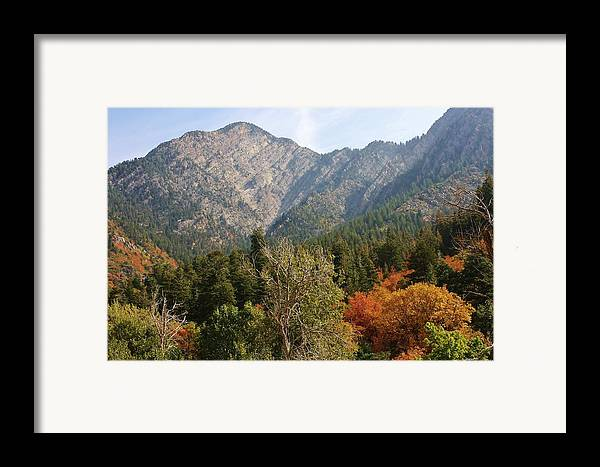 Mountains Framed Print featuring the photograph Mountain Escape by Bruce Bley
