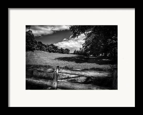 Orsillo Framed Print featuring the photograph Mountain Field by Bob Orsillo