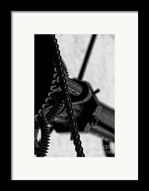 Clocks Framed Print featuring the photograph Moving Time by Catherine Fenner