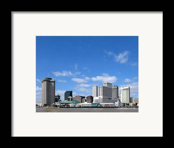 New Framed Print featuring the photograph New Orleans Louisiana by Olivier Le Queinec