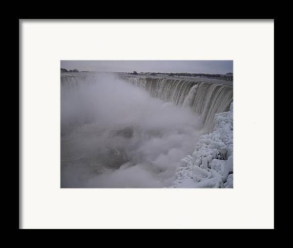 Niagara Falls Framed Print featuring the photograph Niagara Falls by Anastasia Konn