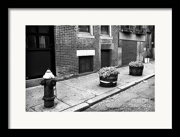 Little Italy Framed Print featuring the photograph Northend by John Rizzuto