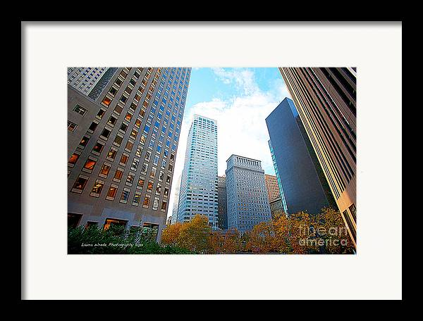 My Office In Downtown San Francisco Framed Print featuring the photograph Office Space For Rent In Downtown San Francisco by Artist and Photographer Laura Wrede