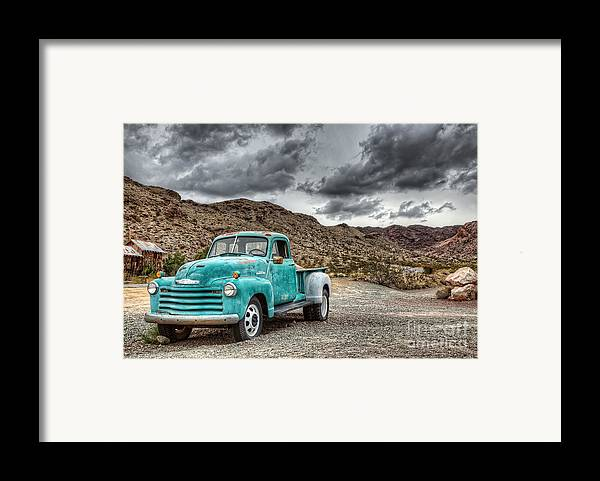 Old Reliable Framed Print by Eddie Yerkish