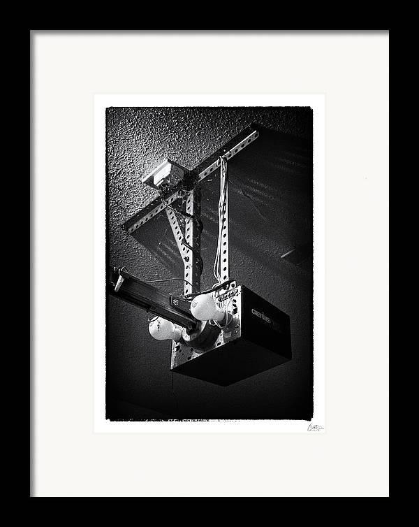 Grunge Framed Print featuring the photograph Open Up - Art Unexpected by Tom Mc Nemar