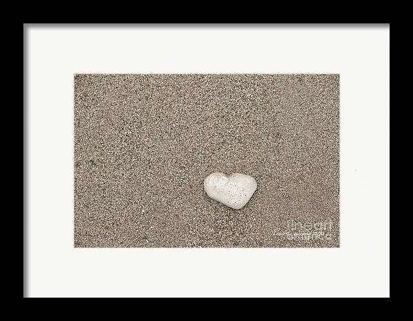 Ocean Framed Print featuring the photograph Our Beach Memories by Artist and Photographer Laura Wrede