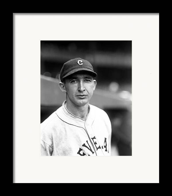 Baseball Framed Print featuring the photograph Patrick H. Pat Mcnulty by Retro Images Archive
