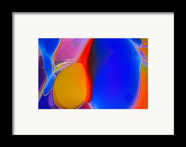 Abstract Framed Print featuring the photograph Penguins by Omaste Witkowski