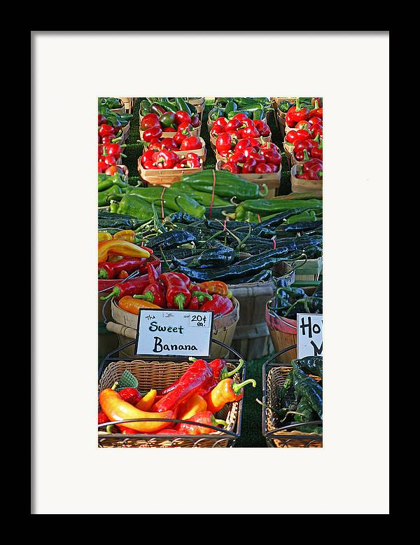 Pepper Framed Print featuring the photograph Pepper Alley by Steph Maxson