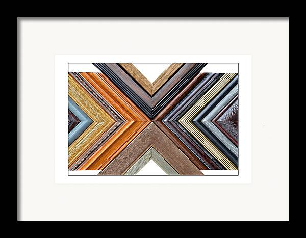 Art Framed Print featuring the photograph Picture Frame Art by Susan Leggett